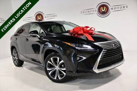 2017 Lexus RX 350 for sale at Unlimited Motors in Fishers IN