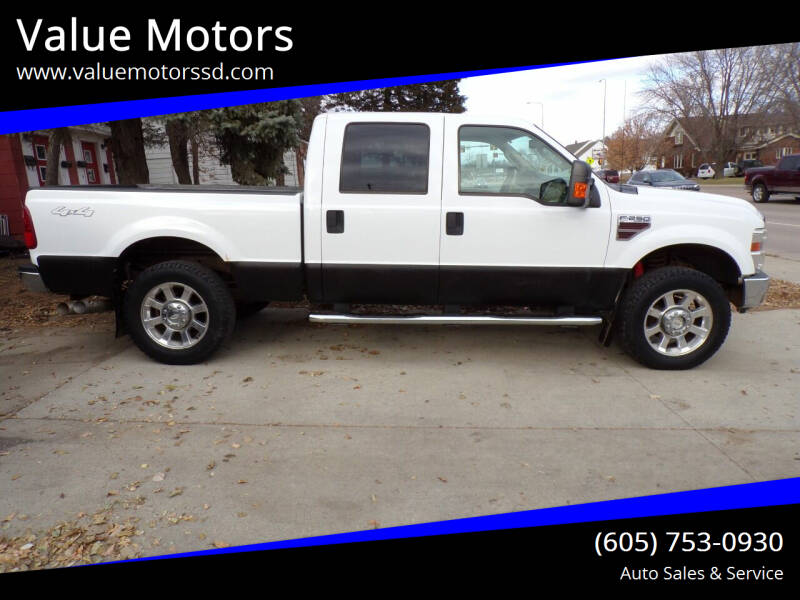 2010 Ford F-250 Super Duty for sale at Value Motors in Watertown SD
