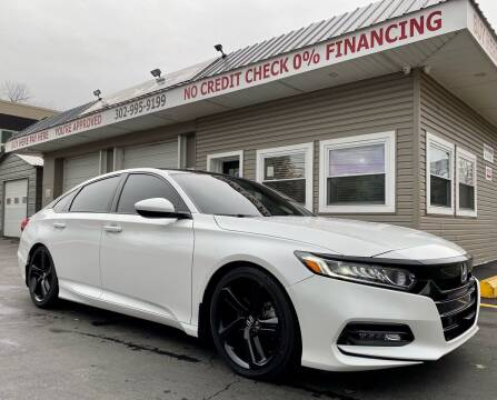 2018 Honda Accord for sale at WOLF'S ELITE AUTOS in Wilmington DE