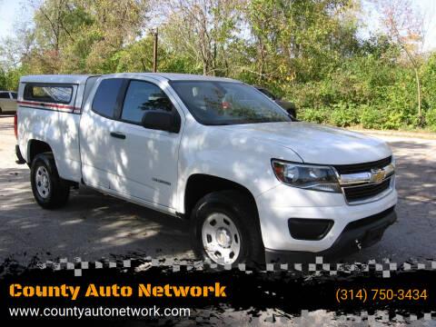 2015 Chevrolet Colorado for sale at County Auto Network in Ballwin MO
