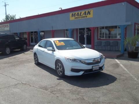 2016 Honda Accord for sale at Atayas Motors INC #1 in Sacramento CA