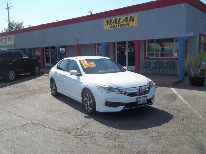 2016 Honda Accord for sale in Sacramento, CA