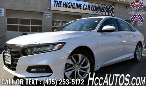 2019 Honda Accord for sale at The Highline Car Connection in Waterbury CT