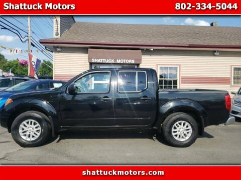 2016 Nissan Frontier for sale at Shattuck Motors - NEKtrucks.com in Newport VT