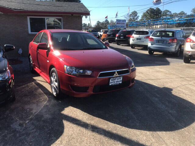 2014 Mitsubishi Lancer for sale at Port City Auto Sales in Baton Rouge LA