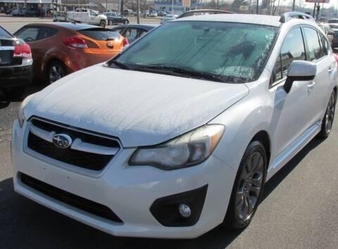 2013 Subaru Impreza for sale at Express Auto Sales in Lexington KY