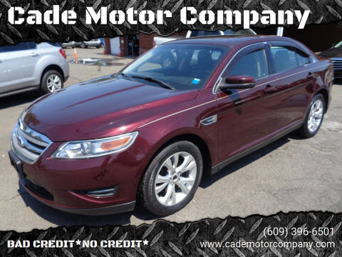 2011 Ford Taurus for sale at Cade Motor Company in Lawrenceville NJ