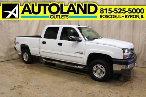 2005 Chevrolet Silverado 2500HD for sale at AutoLand Outlets Inc in Roscoe IL
