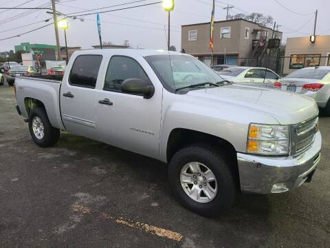 2012 Chevrolet Silverado 1500 for sale at Universal Auto Sales in Salem OR