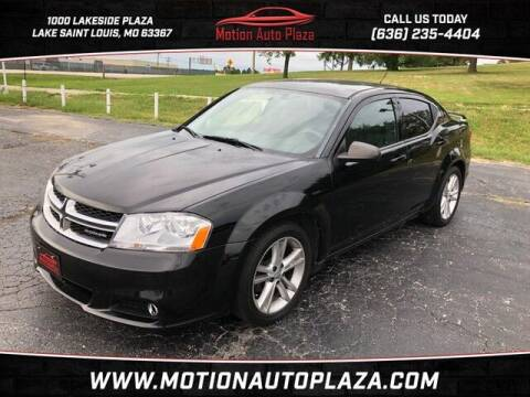 2013 Dodge Avenger for sale at Motion Auto Plaza in Lakeside MO