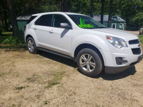 2013 Chevrolet Equinox for sale at Northwoods Auto & Truck Sales in Machesney Park IL
