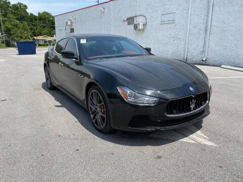 2016 Maserati Ghibli for sale at LUXURY AUTO MALL in Tampa FL