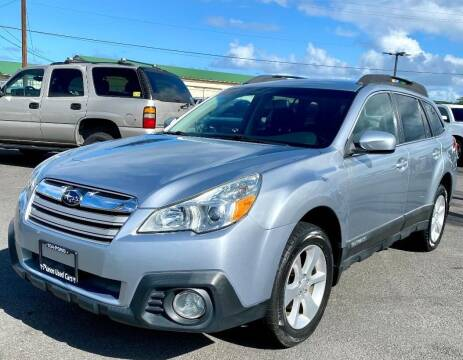 2013 Subaru Outback for sale at PONO'S USED CARS in Hilo HI
