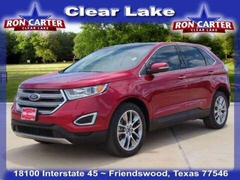 2017 Ford Edge for sale at Ron Carter  Clear Lake Used Cars in Houston TX