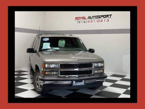 1999 Chevrolet Tahoe for sale at Royal AutoSport in Sacramento CA