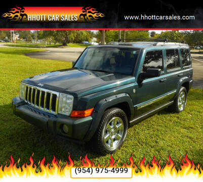2006 Jeep Commander for sale at HHOTT CAR SALES in Deerfield Beach FL
