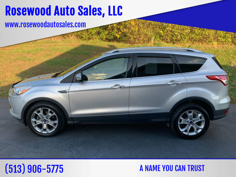 2014 Ford Escape for sale at Rosewood Auto Sales, LLC in Hamilton OH