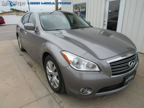 2012 Infiniti M37 for sale at TWIN RIVERS CHRYSLER JEEP DODGE RAM in Beatrice NE
