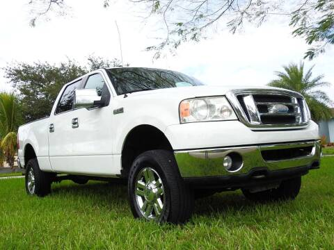 2008 Ford F-150 for sale at M.D.V. INTERNATIONAL AUTO CORP in Fort Lauderdale FL