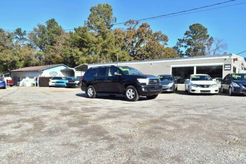 2012 Toyota Sequoia for sale at Barrett Auto Sales in North Augusta SC