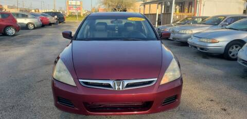 2006 Honda Accord for sale at Anthony's Auto Sales of Texas, LLC in La Porte TX