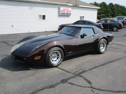1981 Chevrolet Corvette for sale at Plainfield Auto Sales, LLC in Plainfield WI