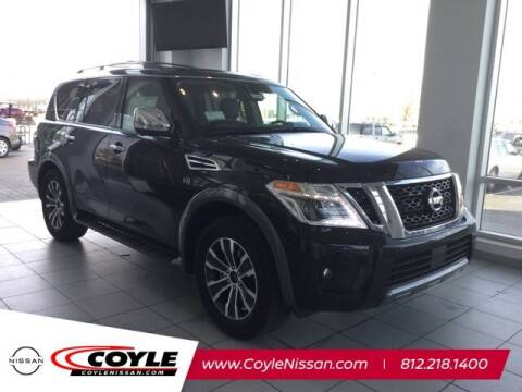 2020 Nissan Armada for sale at COYLE GM - COYLE NISSAN - Coyle Nissan in Clarksville IN