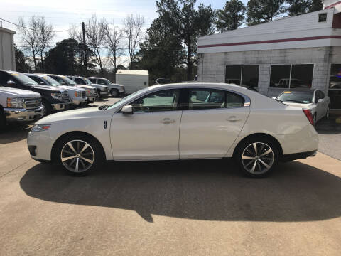 2009 Lincoln MKS for sale at Northwood Auto Sales in Northport AL