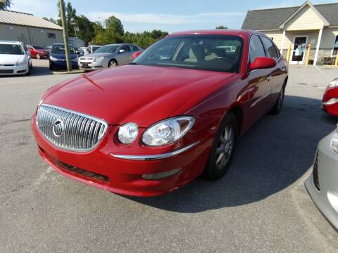 2008 Buick LaCrosse for sale at Creech Auto Sales in Garner NC