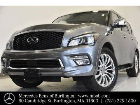 2017 Infiniti QX80 for sale at Mercedes Benz of Burlington in Burlington MA