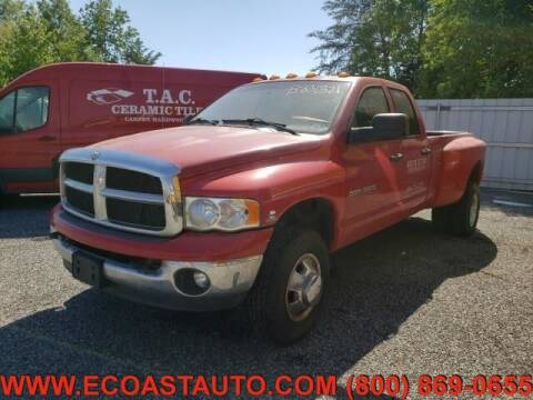 2004 Dodge Ram Pickup 3500 for sale at East Coast Auto Source Inc. in Bedford VA