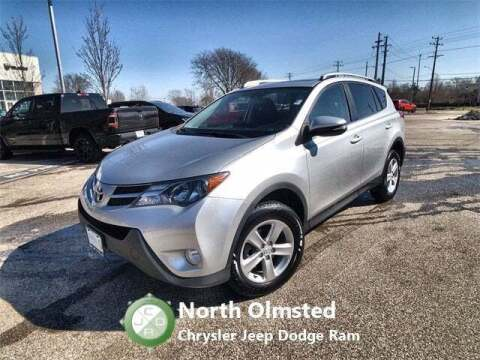 2014 Toyota RAV4 for sale at North Olmsted Chrysler Jeep Dodge Ram in North Olmsted OH