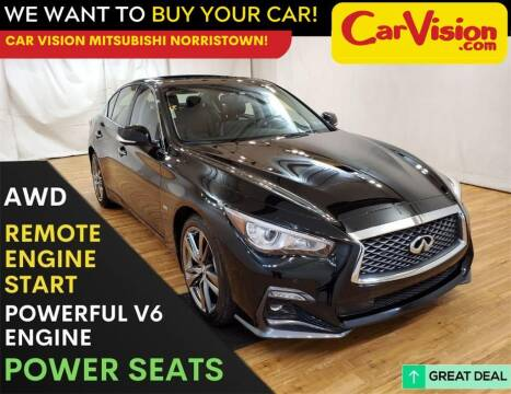 2019 Infiniti Q50 for sale at Car Vision Mitsubishi Norristown in Trooper PA