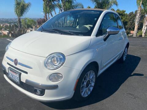 2013 FIAT 500c for sale at Bozzuto Motors in San Diego CA