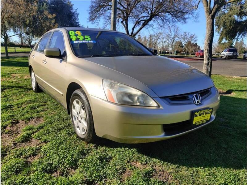 2004 Honda Accord for sale at D & I Auto Sales in Modesto CA