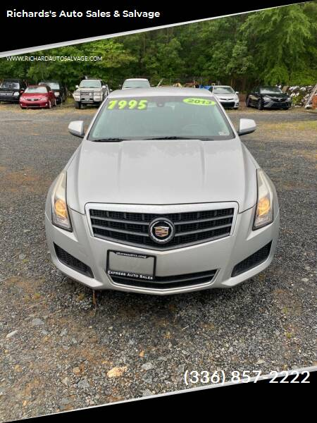 2013 Cadillac ATS for sale at Richards's Auto Sales & Salvage in Denton NC