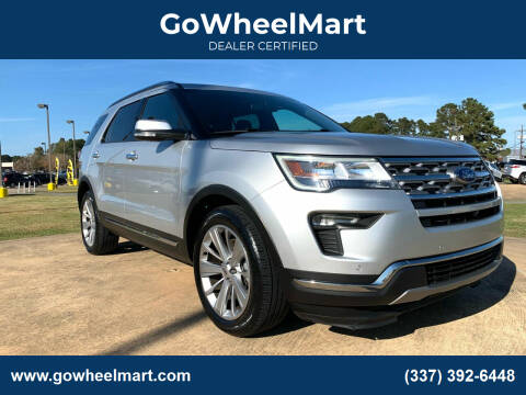 2019 Ford Explorer for sale at GOWHEELMART in Available In LA