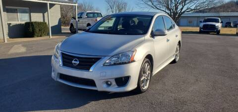 2013 Nissan Sentra for sale at Jacks Auto Sales in Mountain Home AR
