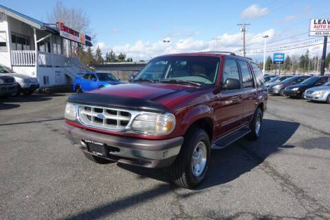 1996 Ford Explorer for sale at Leavitt Auto Sales and Used Car City in Everett WA