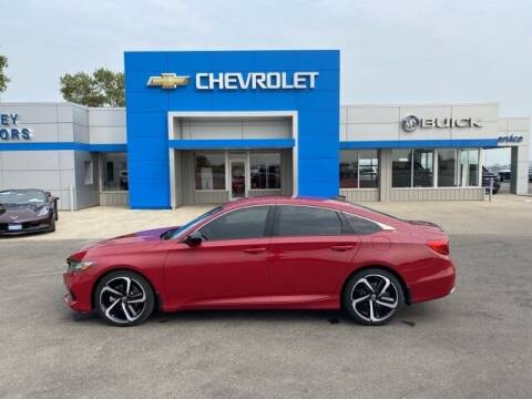 2021 Honda Accord for sale at Finley Motors in Finley ND