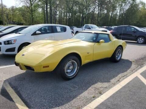 1978 Chevrolet Corvette for sale at Strosnider Chevrolet in Hopewell VA