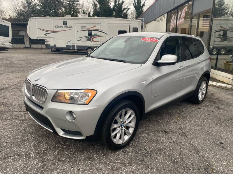 2013 BMW X3 for sale at Import Auto Mall in Greenville SC