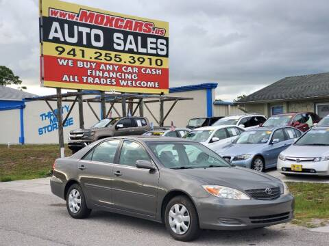 2002 Toyota Camry for sale at Mox Motors in Port Charlotte FL