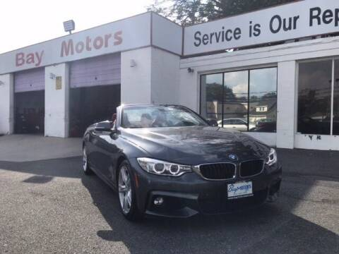 2016 BMW 4 Series for sale at Bay Motors Inc in Baltimore MD