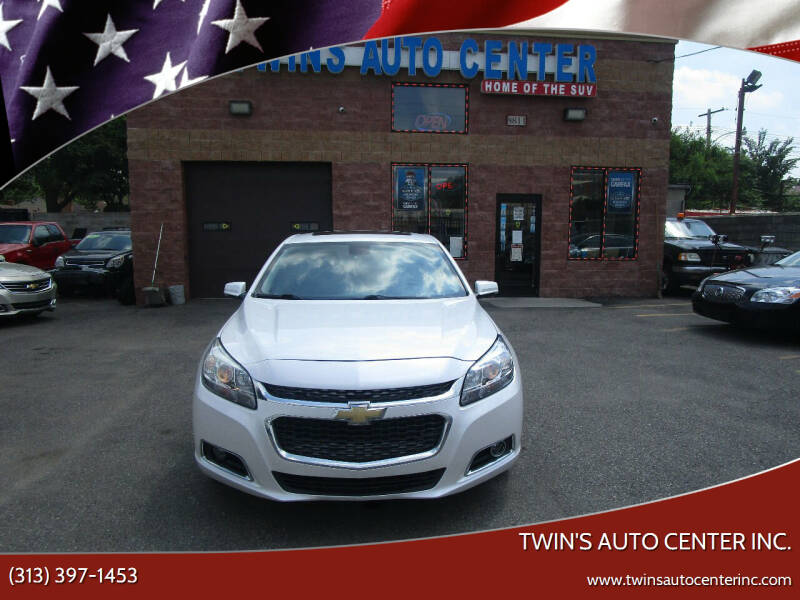 2015 Chevrolet Malibu for sale at Twin's Auto Center Inc. in Detroit MI