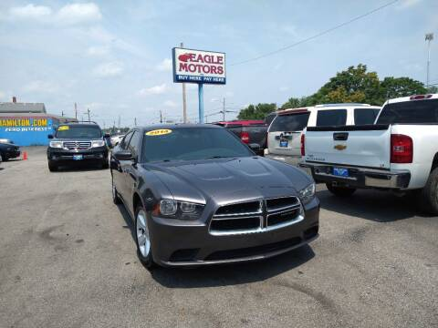 2014 Dodge Charger for sale at Eagle Motors in Hamilton OH