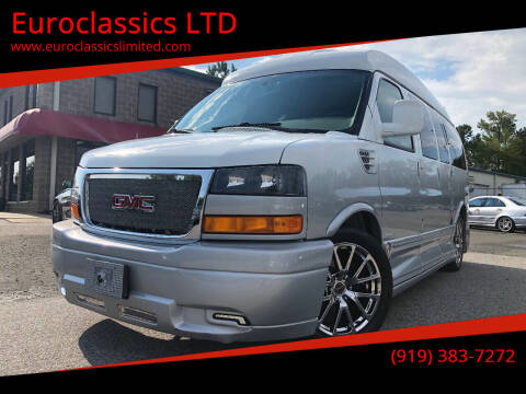 2014 GMC Savana Cargo for sale at Euroclassics LTD in Durham NC