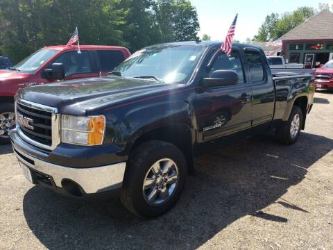 2010 GMC Sierra 1500 for sale at Winner's Circle Auto Sales in Tilton NH
