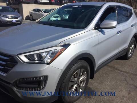 2016 Hyundai Santa Fe Sport for sale at J & M Automotive in Naugatuck CT