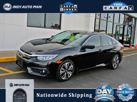 2017 Honda Civic for sale at INDY AUTO MAN in Indianapolis IN